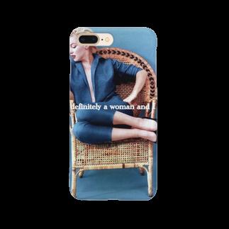 mimitonのマリリン・モンロー Smartphone cases