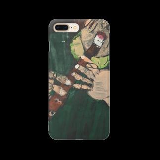 shibatayuuの自画像 Smartphone cases