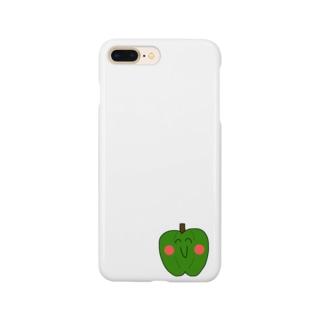 頑張れピーマン之助 Smartphone cases