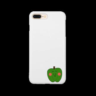 へいへいまいでいの頑張れピーマン之助 Smartphone cases