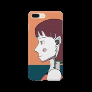 櫛谷久紗/KusyaKUSHIYAのサイボーグ Smartphone cases
