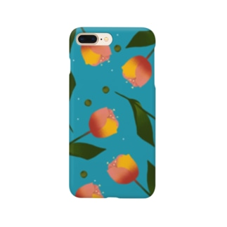 チューリップ Smartphone cases