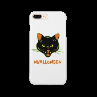 gemgemshopのニャロウィン Smartphone cases