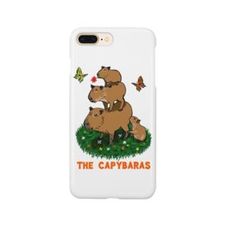 令和堂のthe capybaras Smartphone cases