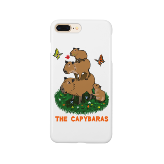 令和堂のthe capybaras Smartphone cases