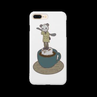rico:amjeのマシュマロココア Smartphone cases