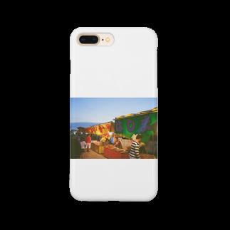 ino_taroの夏祭り 屋台 フィルム写真 Smartphone cases