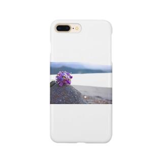 ino_taroの海と砂浜とドライフラワー Smartphone cases