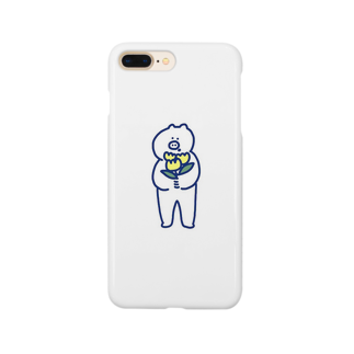 からすやのぶたケース Smartphone cases