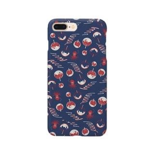 Akane Yabushita SUZURI Shopの【日本レトロ#20】たこ焼き Smartphone cases