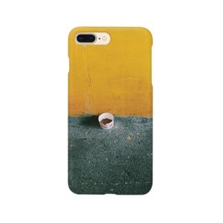 Shogo Hirokiの黄色い壁 Smartphone cases