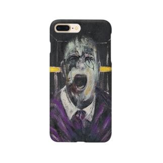 jinjakeの叫ぶ教皇の頭部のための習作 Smartphone cases