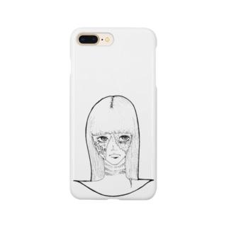 ハロウィンゾンビ女その2 Smartphone cases