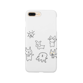 risbedの太陽のまち Smartphone cases