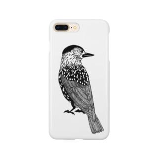 ホシガラス Smartphone cases