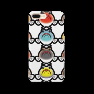 hiromu.のドット・ジョー(カラフルver.) Smartphone cases