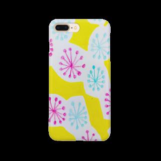 しがないななしSHOPのぱっと咲いた Smartphone cases