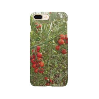 ミニトマト収穫前 Smartphone cases