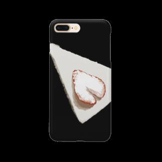 まぐろのShort cake Smartphone cases