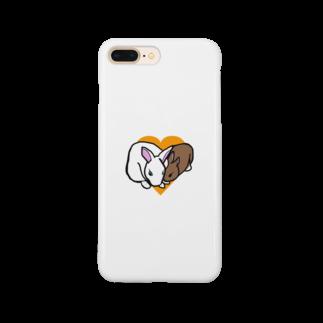 ぷぐの仲良しピノシェリ Smartphone cases