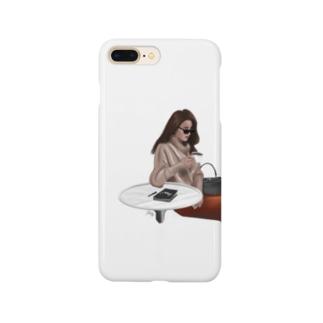 カフェる Smartphone cases