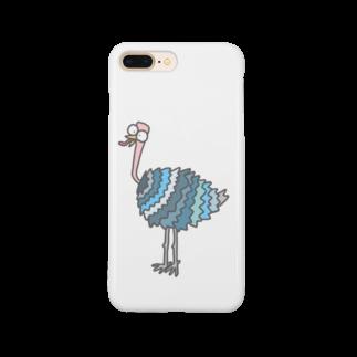 mmmooaのカラフルな鳥 Smartphone cases