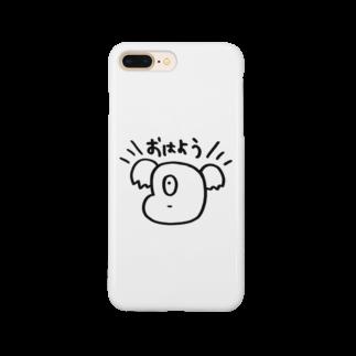 irimaziriのおはようコアラ Smartphone cases