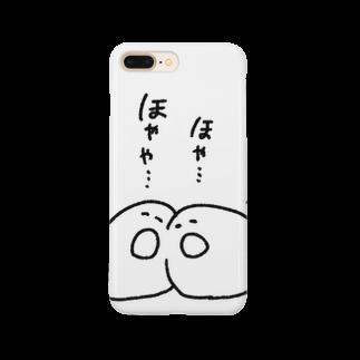 カニにマグナムのホヤくんホヤちゃん Smartphone cases