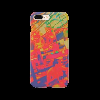 ぬっのタイの屋台🇹🇭(カラフル) Smartphone cases