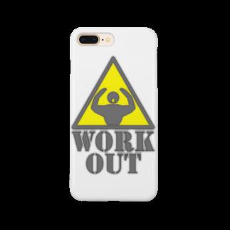 AURA_HYSTERICAのWorkout Smartphone cases