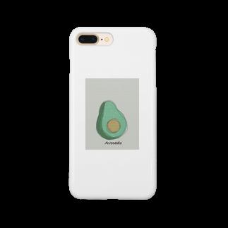 たくしーのアボカド Smartphone cases