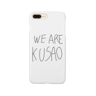 ちきーたショップのWE ARE KUSAO Smartphone cases