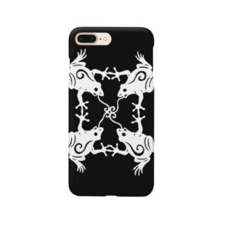 カエルノウタ Smartphone cases