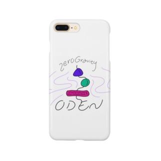 Zero Gravity おでん Smartphone cases