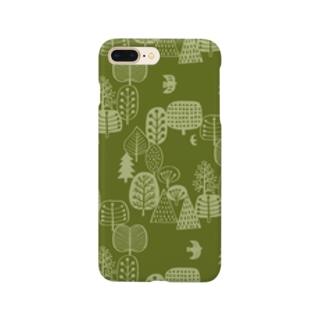 森とトリA Smartphone cases