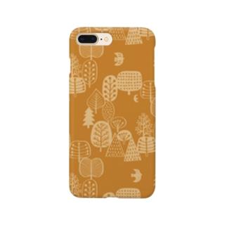 森とトリB Smartphone cases