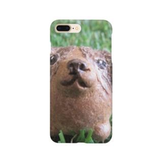 まんまるビーグル Smartphone cases