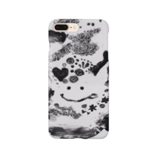 チョコペイント Smartphone cases