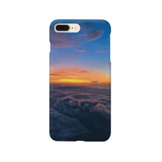 頑張った富士山 Smartphone cases