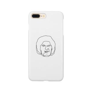 大巨人 イラストTシャツ 偉人 Smartphone cases
