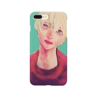 白髪くん Smartphone cases