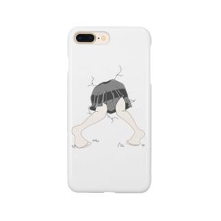 壁尻 Smartphone cases
