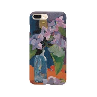 花とアイドルのある静物 Smartphone cases