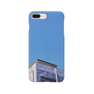 スカイブルー Smartphone cases