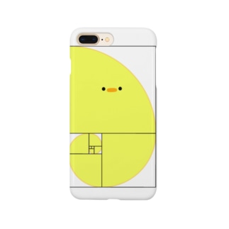 ぷにおもちSHOPのフィボナッチーヨ(文字なし) Smartphone cases