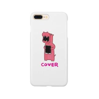 カバのカバー Smartphone cases