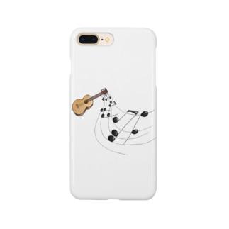 奏でるギター フルカラー① Smartphone cases