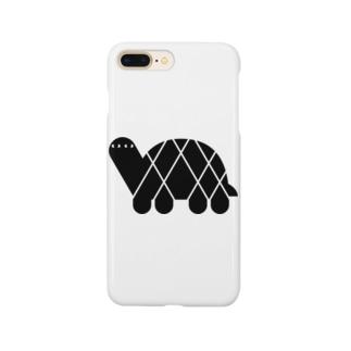 ANIMALシリーズ かめ Smartphone cases