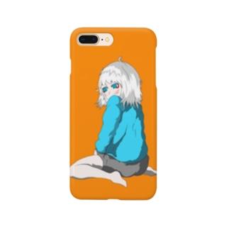 ふりむく Smartphone cases