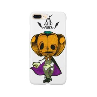 ハロウィンのかぼちゃくん。 Smartphone cases